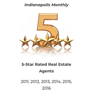 Indianapolis Monthly 5-Star Real Estate Agent